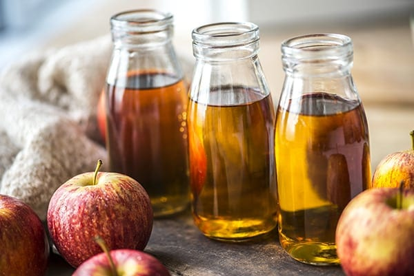 Apple cider vinegar is good for keeping mosquitoes away