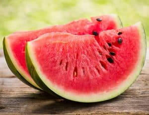 As well as being delicious watermelon can make a healthy treat for your horse