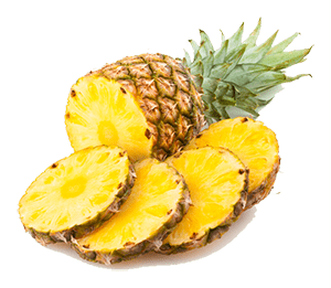 If you remove the spikes skin then pineapples make a juicy treat for horses