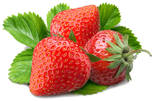 Strawberries are great a helping to keep your horse hydrated during hot summer days