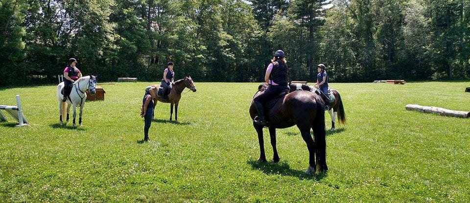 Group riding lessons are much cheaper than private lessons
