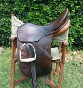 You should remove the stirrups and leathers before you clean your saddle