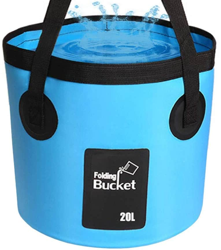 Foldable Water Bucket For Horses
