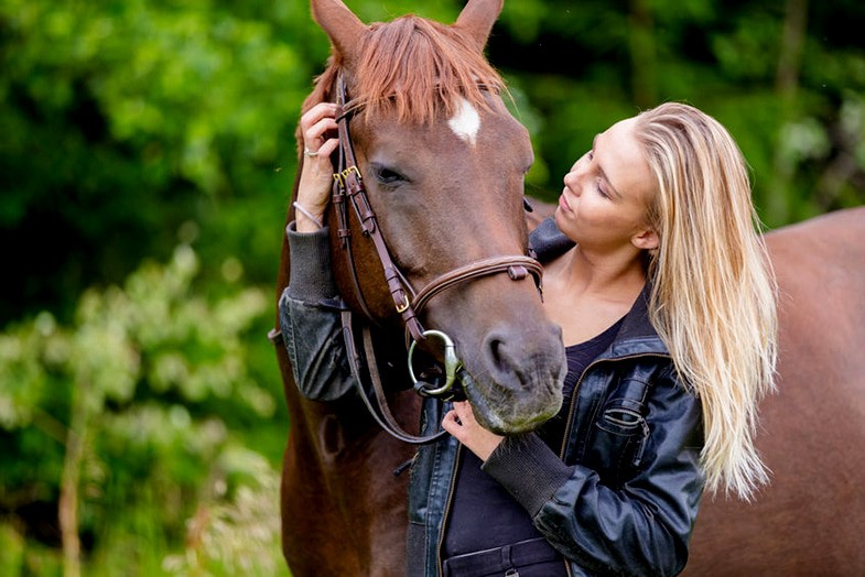 It can be extremely rewarding when you overcome your fear of horses